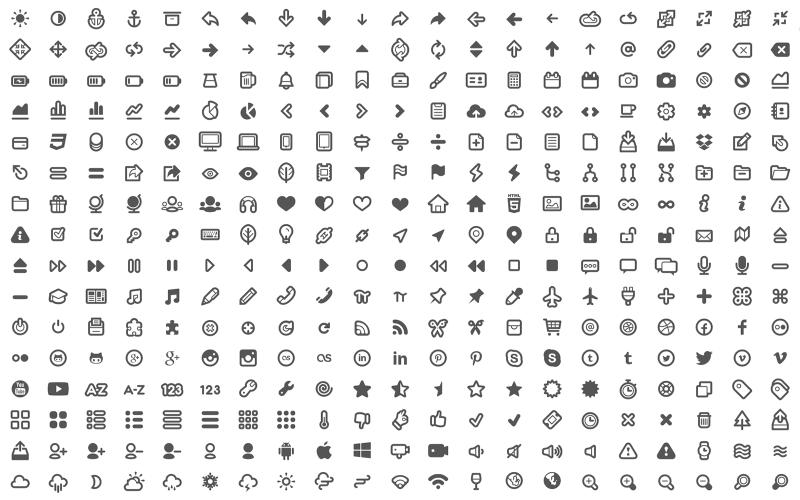 Typicons - Free Web Icons